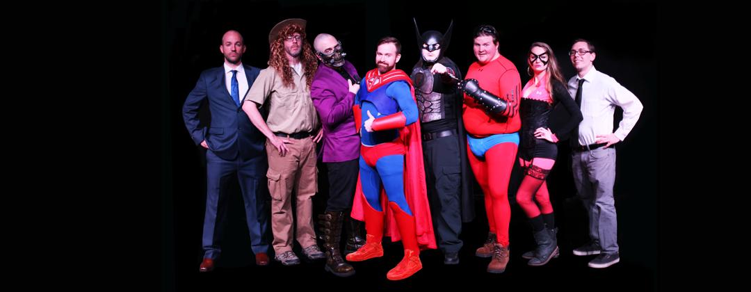SuperHero Homicide cast